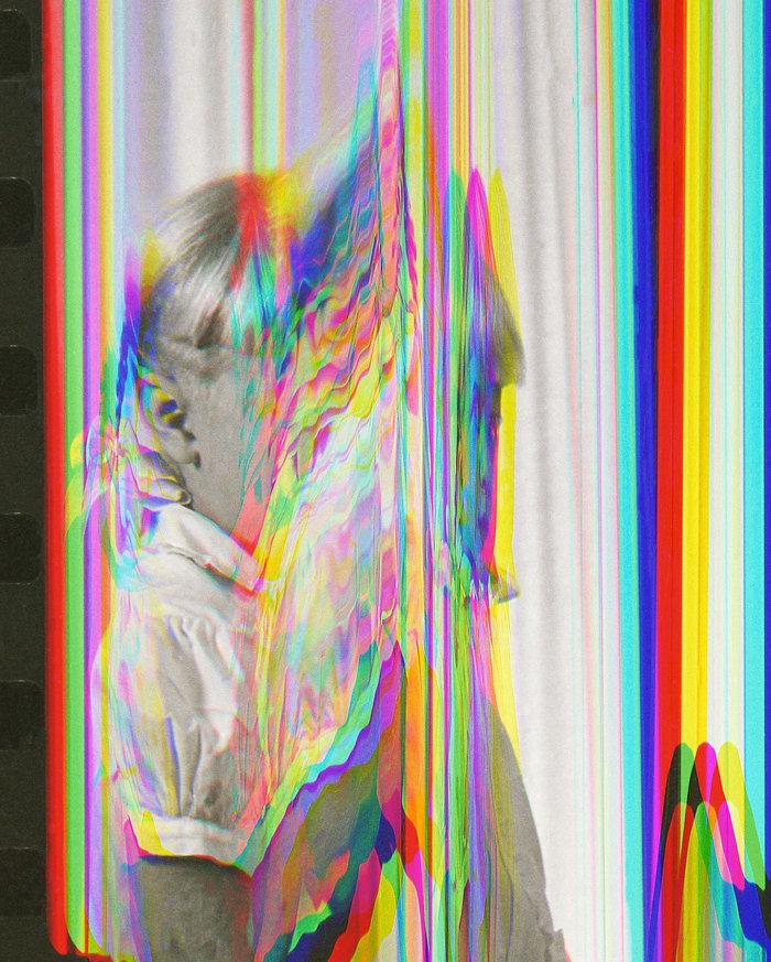 Sara Cwynar, Girl from Contact Sheet 2 (Darkroom Manuals), 2013